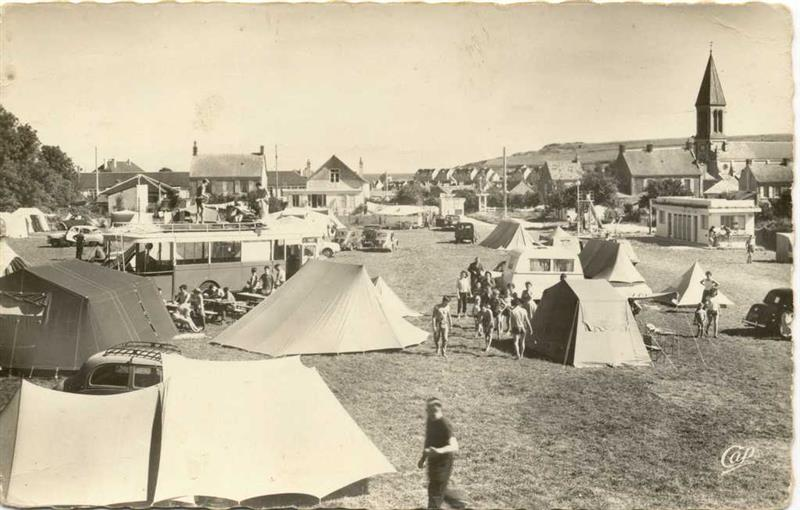 Location camping 2 toiles port en bessin calvados - Camping la prairie port en bessin huppain ...