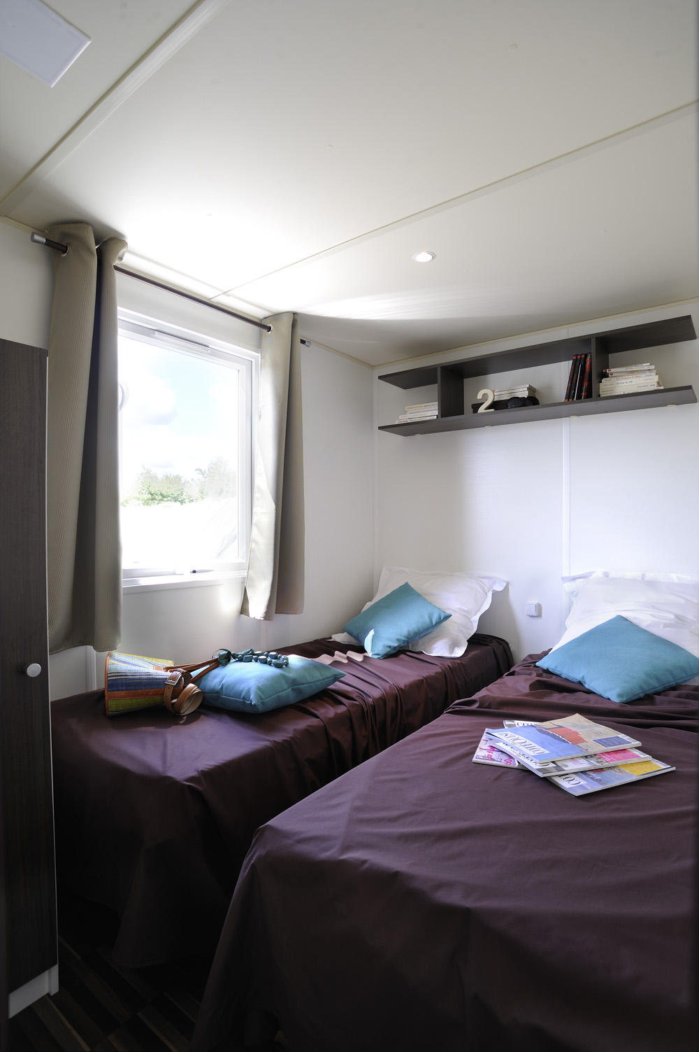 Location mobil-homes 3 chambres 6/7 pers. au Camping de La Prairie à Port en Bessin, camping 2 étoiles, location camping, mobil homes, gîtes toilés et studios, proche des plages du Débarquement, Arromanches, Bayeux, Calvados en Normandie